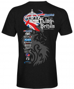 King of Britain 2020 official t-shirt mens